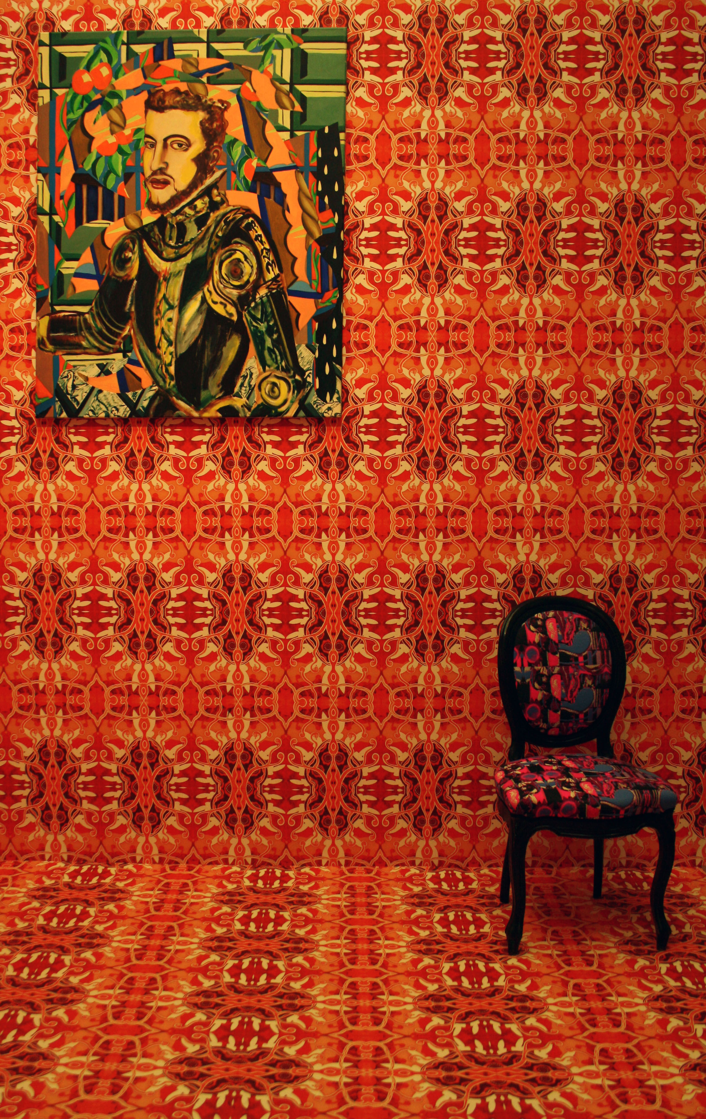 History William of Orange, 1991, olie op canvas, 120 x 100 cm, Collectie Link Art Company