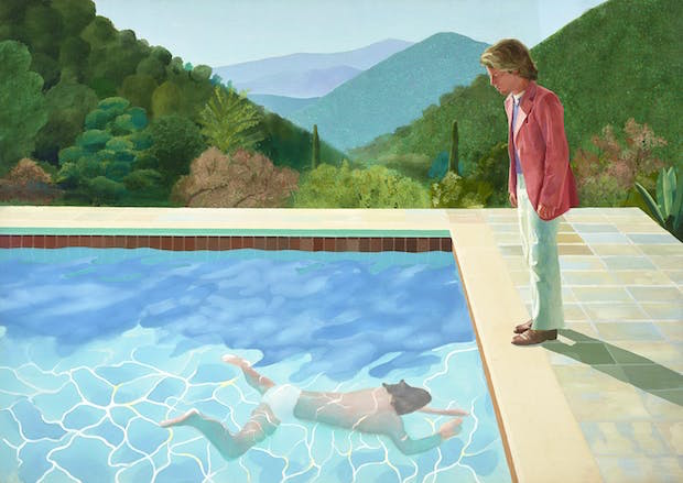 Portrait of an Artist (Pool With Two Figures) (1972), David Hockney. Photo: Art Gallery of New South Wales/Jenni Carter; © David Hockney
