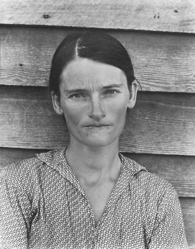 Walker Evans - Allie Mae Burroughs, Hale County, Alabama / 1936