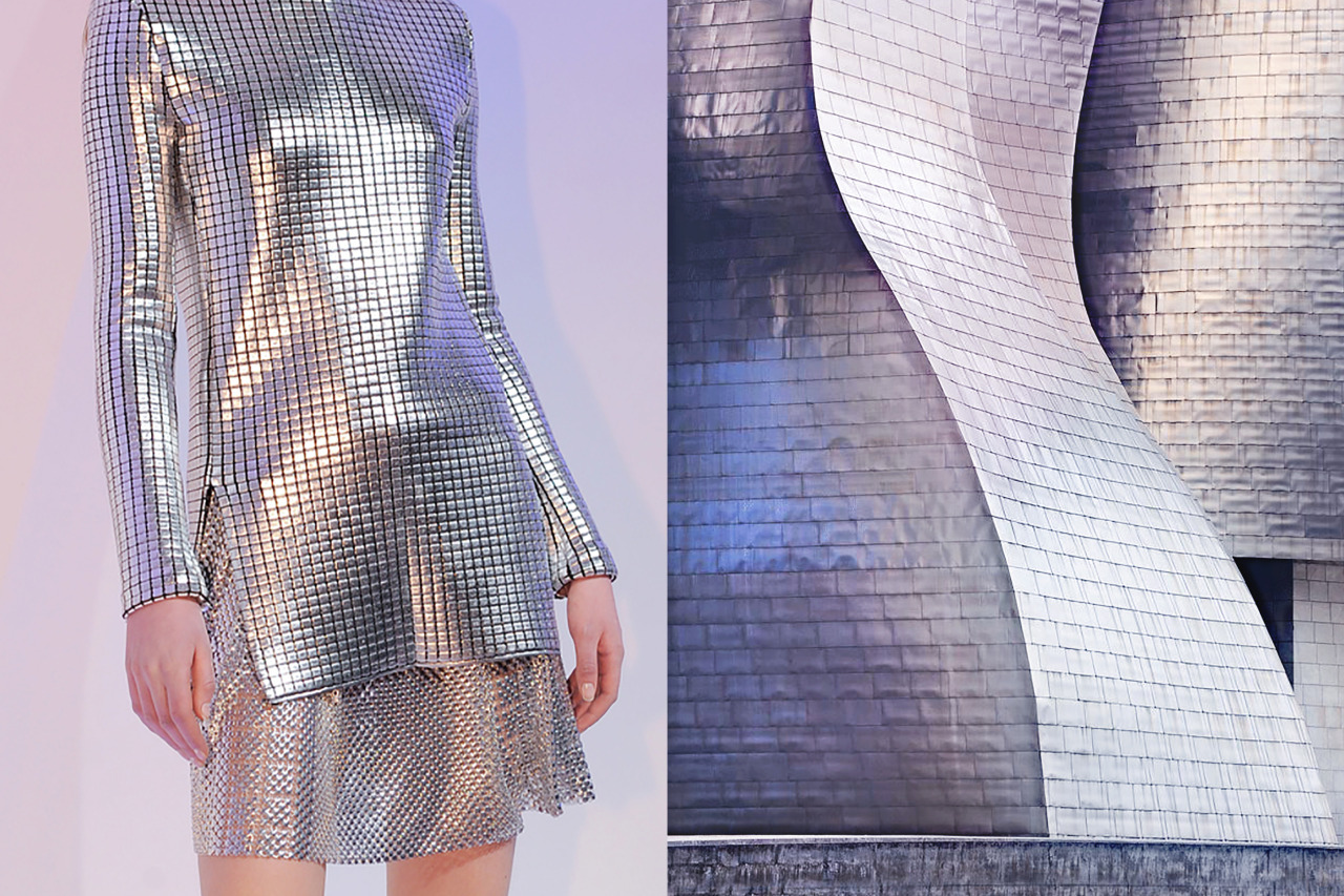 Details at Paco Rabanne Fall 2013 | The Guggenheim Museum in Bilbao, Spain