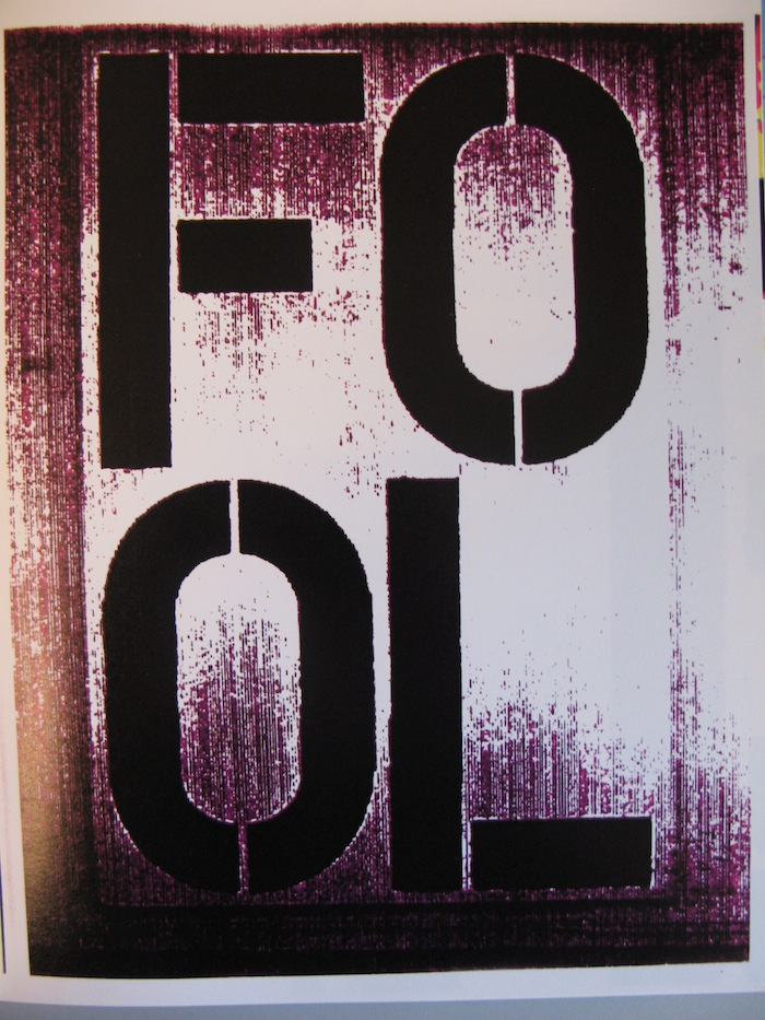 Christopher Wool - FOOL  > Cats in bag bags in river (Christopher Wool)