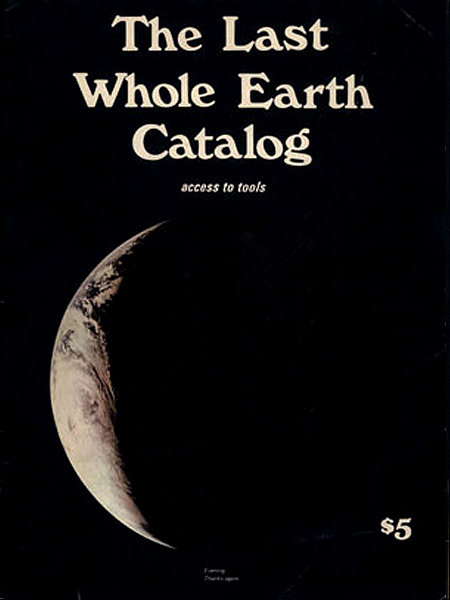 W Whole Earth Catalogue